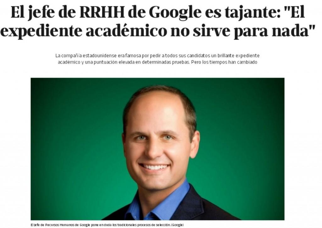 RRHH Google